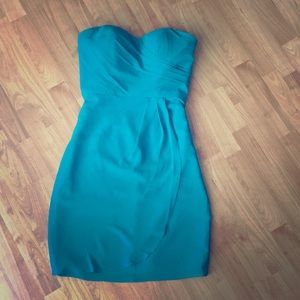 Teal Turquoise Oasis colored Dress